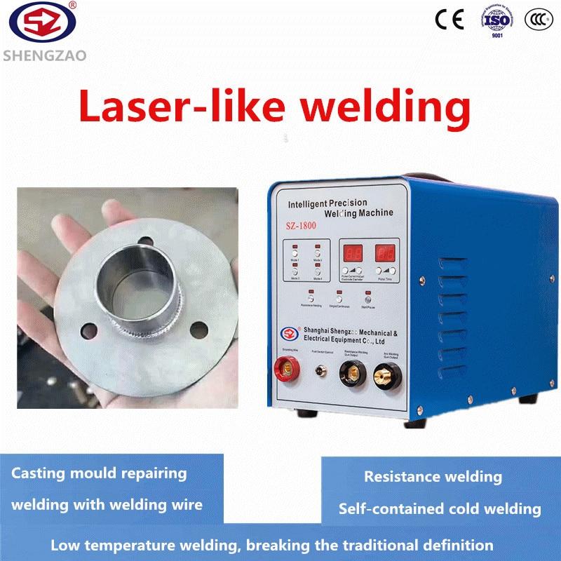 Intelligent Precision Cold Welding Machine Industrial 220V Mold Repair Thin Plate Copper Welding Pulse Welding Tig Welder