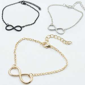 Women Bracelet Infinite Bracelets Bangle