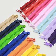 Alipress 5# нейлон катушки молнии для DIY Швейные сумки обувь, одежда аксессуары 10 метров 22 цвета доступны