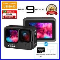 Go Pro Action Camera - 5K Ultra Hd Video,1080P Live Streaming, onderwater Waterdichte Helm Sport Cam Gopro Hero 9 Zwart