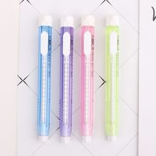 Eraser Rubber Stationery Pen-Shape Retractable Mechanical School-Supplies Gift Creative