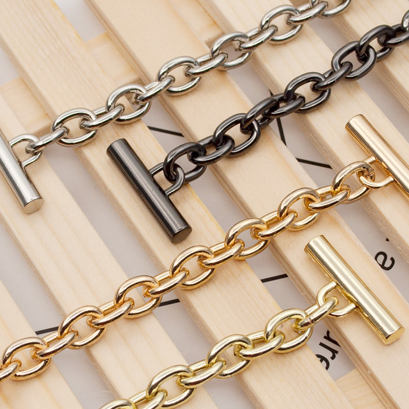 Woman Fashion Bag Accessory Chain Fashion New Wallet Accessroies Chain Handbag Solid Chain Handle Shoulder Bag Strap Obag Handle