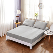 Stripe Fitted Sheet Bed Sheets Mattress Cover Pillow Case Bedding Cover Bed Linen with Elastic Band Single Twin Full Queen King(China)