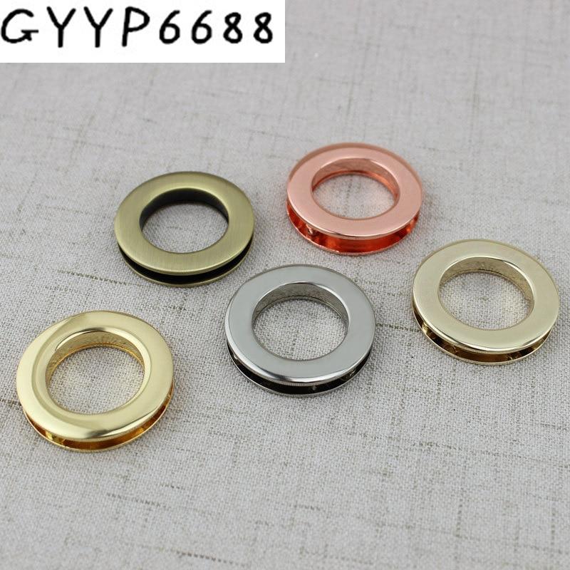 21mm Zinc Alloy Planar Circular Screw Eyelet Dress Luggage Hardware Accessories Screws Eye Corn Round Eyelets With Screws