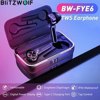 BlitzWolf In-ear Bluetooth 5.0 Earphone TWS Touch control