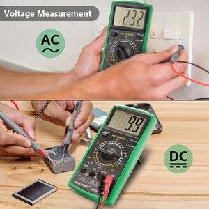 Image 3 - Handskit multimetre AC DC dijital multimetre profesyonel Tester ölçer voltmetre LCD ekran 2000 sayım ölçer cihazı