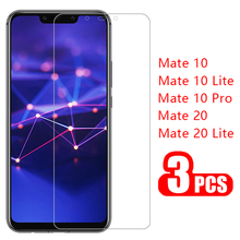 3pcs protective glass for huawei mate 10 20 lite pro screen protector tempered g