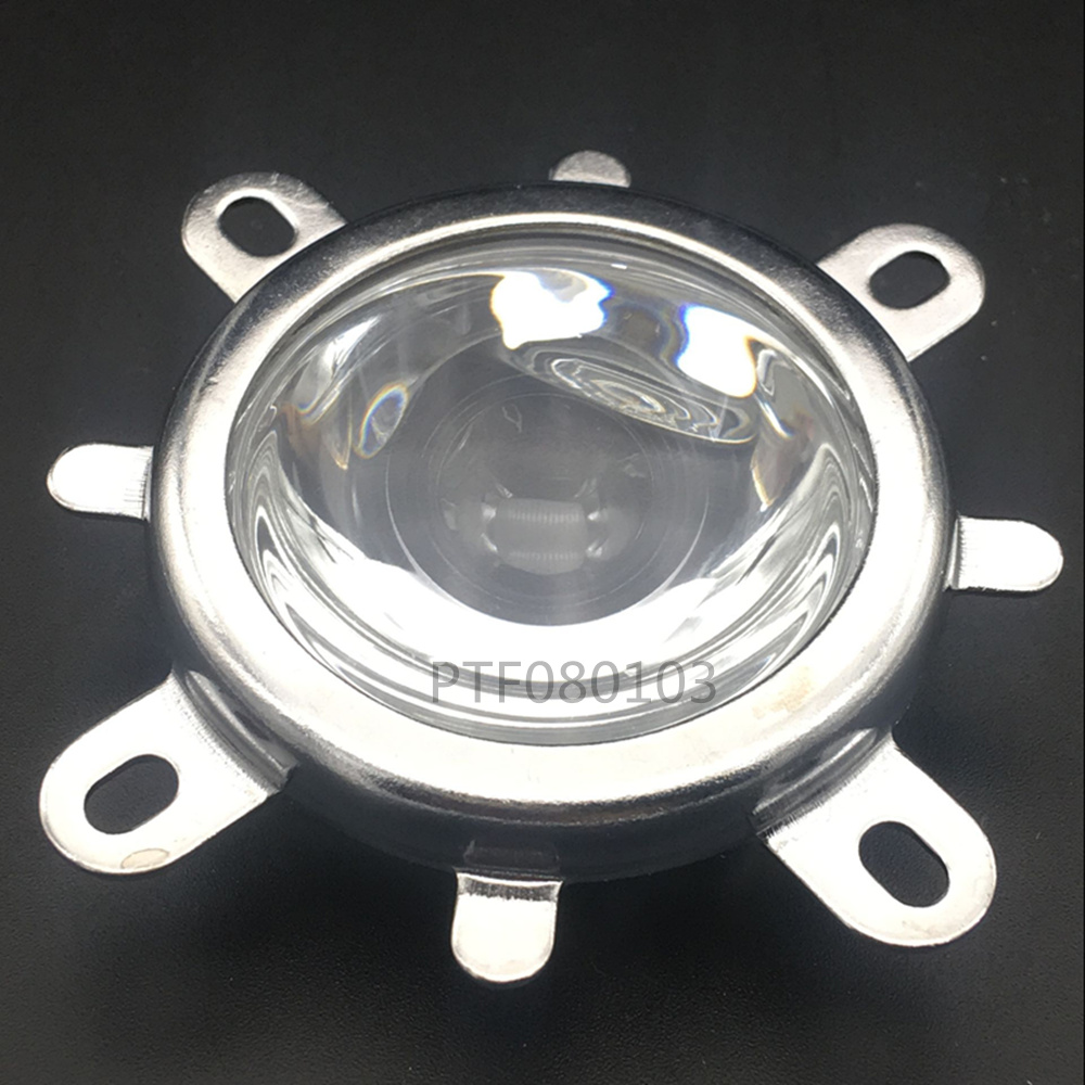 44mm Lens 50mm Reflector Cup Collimator Fixed Bracket Light High Quality For 50W 100W COB LED