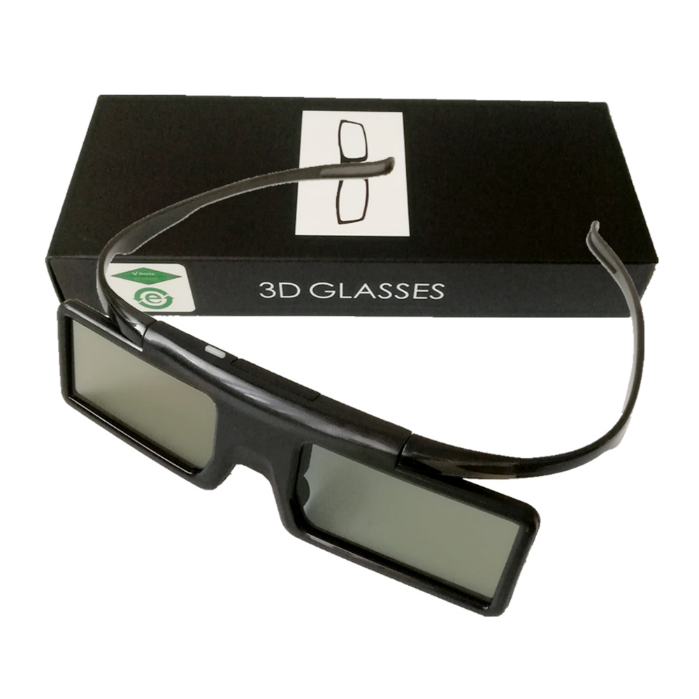 <font><b>3D</b></font> Glasses,Active Shutter Bluetooth RF <font><b>3D</b></font> Glasses 480Hz for <font><b>Samsung</b></font> <font><b>3D</b></font> <font><b>TV</b></font>/EPSON Projector TW6600/5350/5030UB/5040UB & Sony W800B image