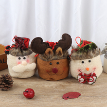 Рождественские конфеты, вечерние, подарочные сумки, украшения, Рождественская упаковочная обертка для хранения, подарок для детей, подарочный контейнер, сумки, аксессуары, принадлежности