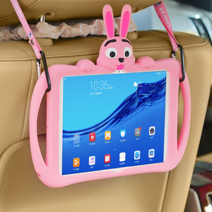 Kid Case for Huawei MediaPad M5 10 10.8 8.0 Inch Silicone Rubber Tablet Cover for Huawei M5 Lite 10.1 8.4 Case(China)