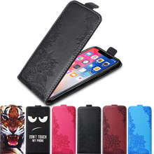 Case on for Huawei Y3 Y5 Y7 2017 Y6 Prime 2018 Y5 Y6 Pro 2019 Case TPU Flip Leather Cover