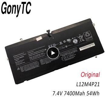 "54Wh 7400mAh 7.4V Genuine L12M4P21 L13S4P21 Battery For Lenovo Yoga 2 Pro 13"" 121500156 2ICP5/57/128-2 2CP5/57/123-2 Original"