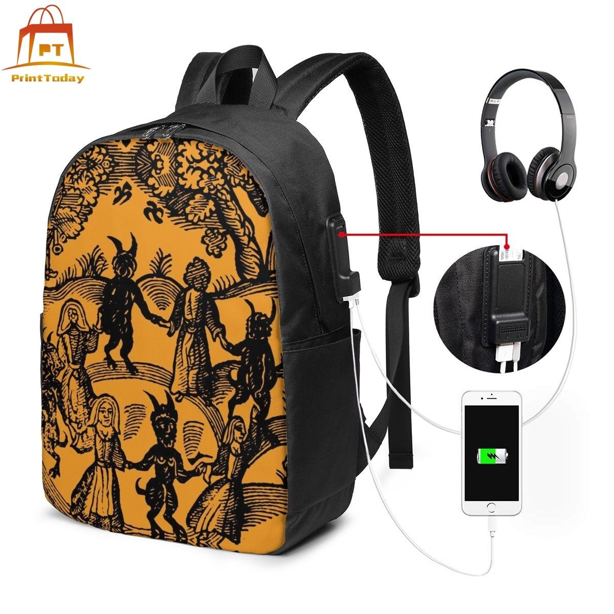 Satan Backpack Satan Backpacks Student High Quality Bag University Multifunction Men's - Women's Print Bags