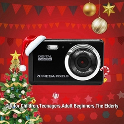 8 Megapixel Inch TFT LCD Rechargeable HD Digital Camera Video Camera Digital Students Cameras with 8X Digital Zoom / 12 MP/HD