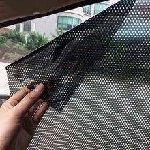 2 шт./компл. оформление окон автомобиля наклейка из фольги автомобильный солнцезащитный козырек авто автомобиль солнцезащитный блок затенение электростатические наклейки