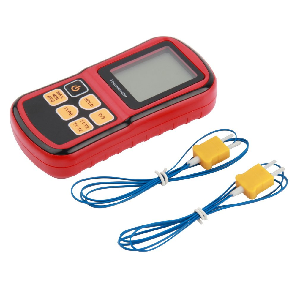 1 Pc Thermocouple Thermometer Measure The Thermocouple Of J,K,T,E,N And R Type GM1312 With LCD Back Light For Industrial Metal