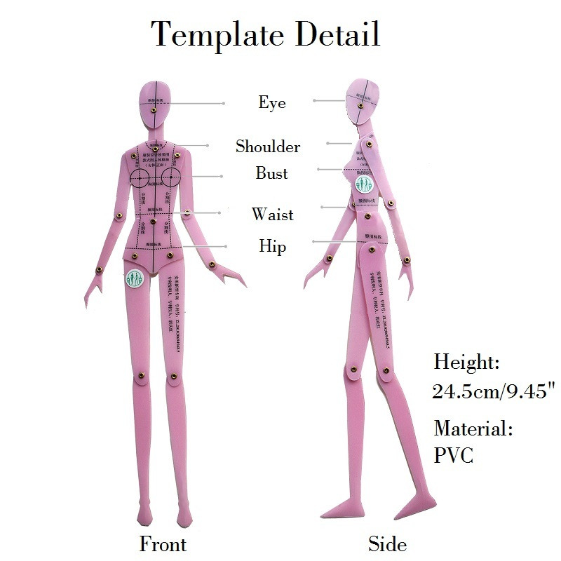 Fashion Drawing Ruler Garment Design Of Human Body Dynamic Hand Drawing Template Ruler Women Effect Drawing Style Rotating Joint Aliexpress
