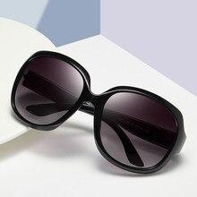 Lunettes de soleil de luxe pour femmes, Style étoile, surdimensionnées, Vintage, ovale, grande monture, pour l'extérieur, UV400