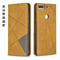 Para Honor 7C AUM-L41 funda Huawei Honor 7C Pro LND-L29 funda Honor 7 C C7 Pro funda tipo billetera para funda Huawei Honor 7C caso