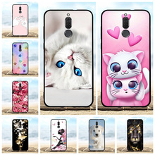 For Huawei Mate 10 Lite Cover Soft Silicone Nova 2i Honor 9i Case Girl Patterned Maimang 6 G10 Shell Capa