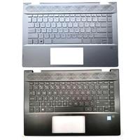 Original 95% NEW For HP PAVILION X360 14 CD 14T CD 14M CD TPN W131 Laptop Palmrest Upper Case US Keyboard