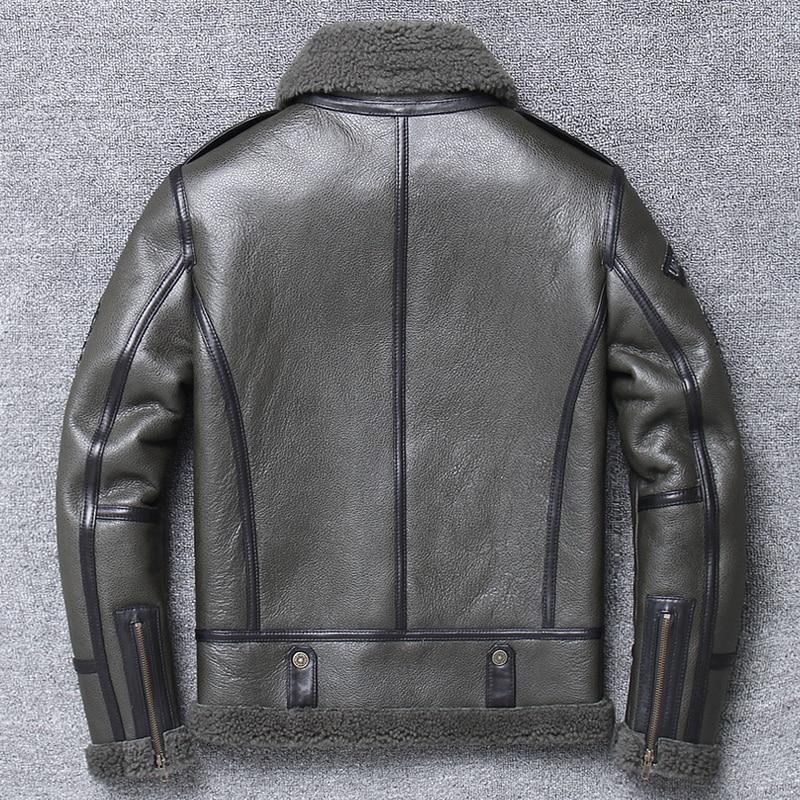 Hd05e6d3f4a1046e3a7cdc0719dcaf7c58 Free shipping,Winter natural Sheepskin thick fur coat,classic wool Shearling,warm genuine leather jacket,mens plus size outwear