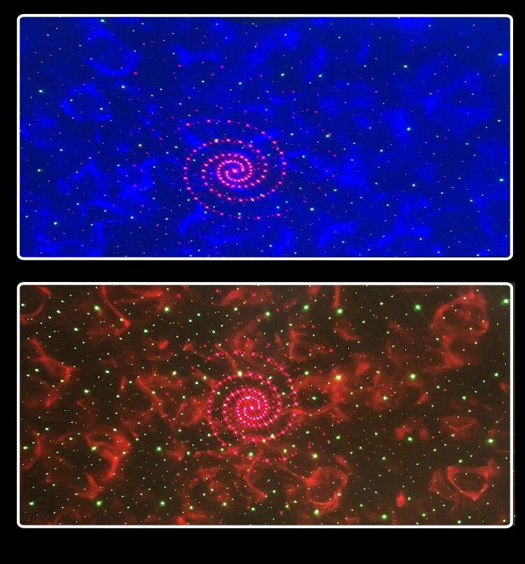 Led usb galaxy projetor estrelado noite lâmpada