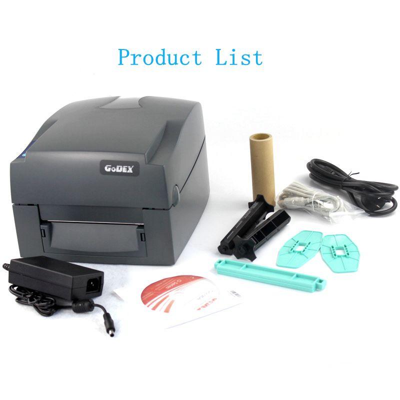 G530U 300DPI label barcode thermische gecoat papier PET stickers ronde sieraden label tag wassen standaard elektronische express gezicht - 4