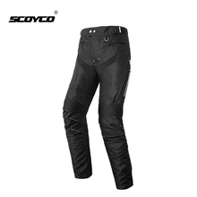 Motocross Pants SCOYCO Knee-Protective Riding Winter Men for with Outfit