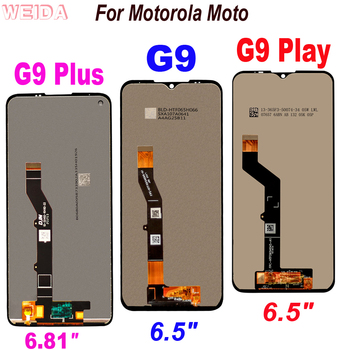 Original New Tested LCD For Motorola Moto G9 Play LCD Display Touch Screen Digitizer Assembly For Moto G9 Plus LCD Display for motorola moto g5 lcd display touch screen xt1672 xt1676 lcd screen glass digitizer complete assembly