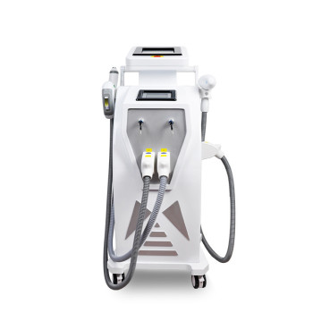 4in1 Multi-Function OPT/Elight/ Nd Yag Laser Tattoo Removal/Hair Removal Machine 2017 new the part of beauty equipment 532 1064 laser tips with nd yag laser handpiece nd yag laser handle