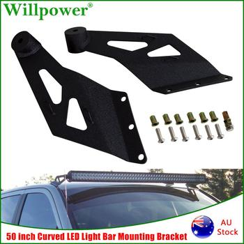 цена на Upper Windshield Roof 50 Curved LED Light Bar Mounting Bracket For Dodge Ram 1500 2002-2008 2500 3500 2003-2009 LED Bar Holder