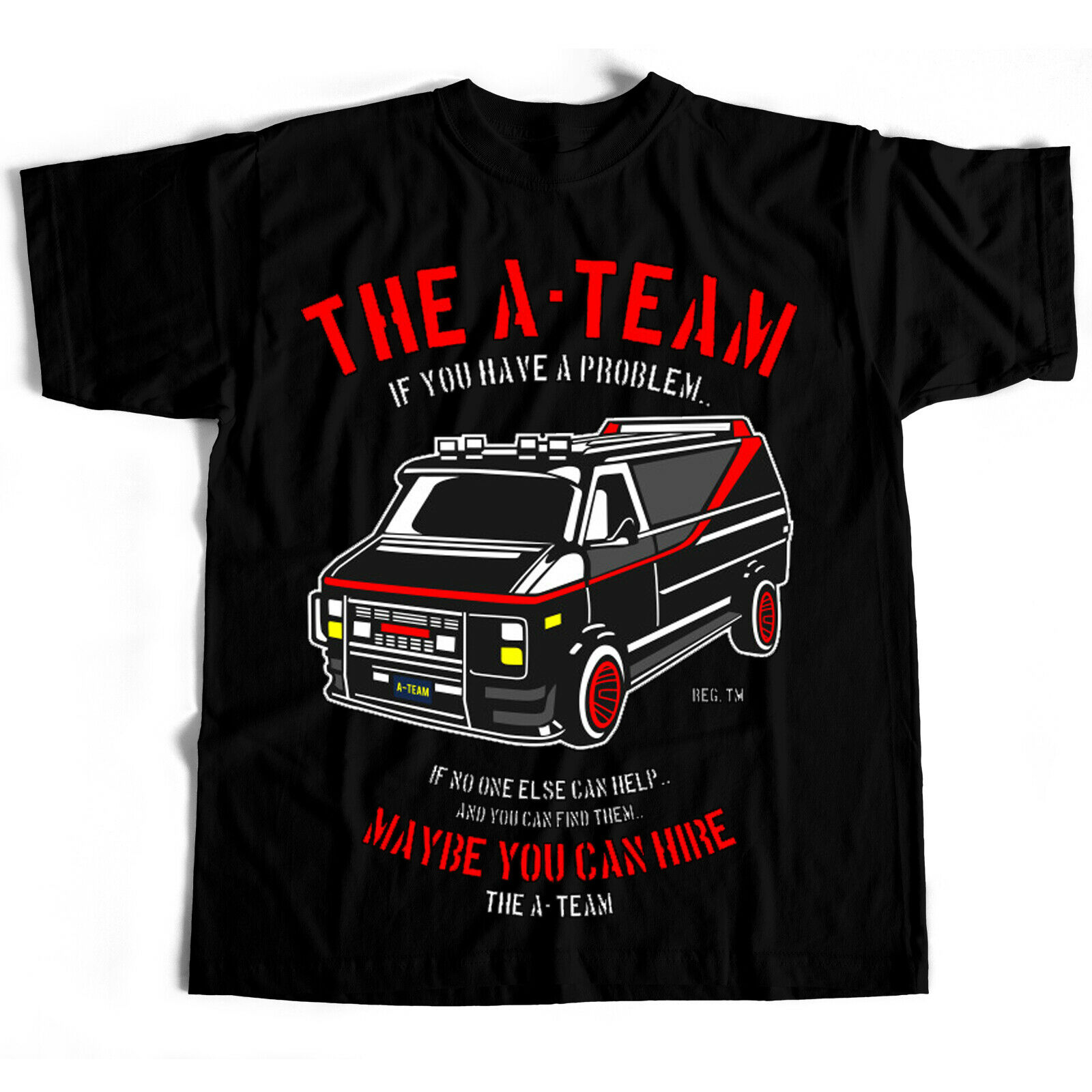 A Team Film Movie Retro 80S Tv Series Cult Air Wolf Professionals T Shirt image
