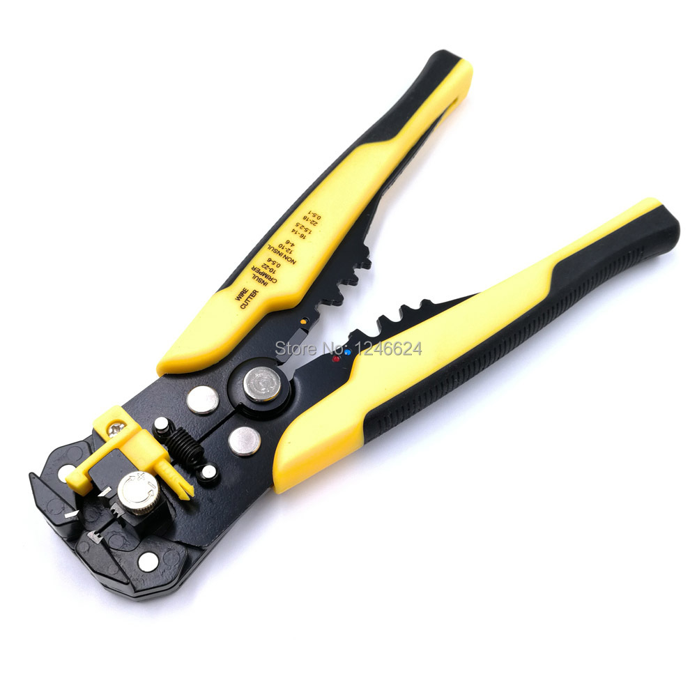 HS-056 Multifunctional Hand Crimping Tool Insulated Copper High Quality Cable Peeling Machine Cutting Range 0.25-6mm2