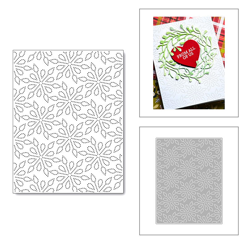 2020 Новый Рождество прямоугольный фон тисненые металлические Вырубные штампы для DIY Cut Бумага ремесло изготовления карты Скрапбукинг нет шт...