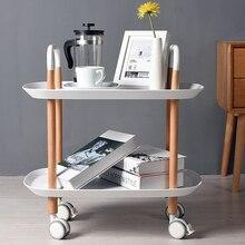 Mini przenośny stojak do przechowywania koszyk kuchnia sypialnia Organizer łazienkowy kanapa z funkcją spania stolik do kawy płyta fryzjer Salon półki ogrodowe