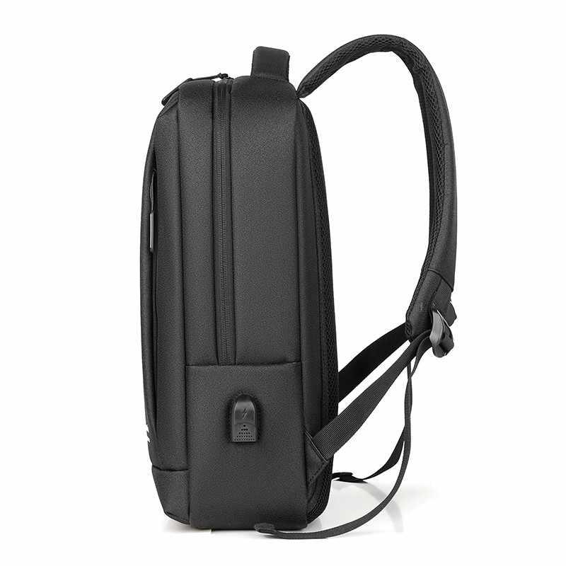 PUBGS erkek sırt çantası 15.6 inç USB şarj portu yeni seyahat bilgisayar çantaları iş dizüstü sırt çantaları erkek Mochila okul çantası