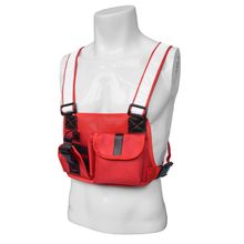 Men Outdoor Hunting Radio Chest Harness Bag Holster Holder Vest Rig(China)