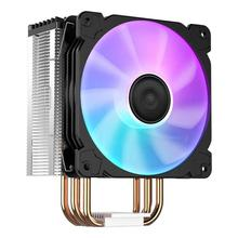 Jonsbo CR1000 Tower LED CPU Cooler Fan 4 Heatpipes PWM 4Pin Cooling Heat Sink Hydraulic Bearing Alloy Radiator for Intel/AMD