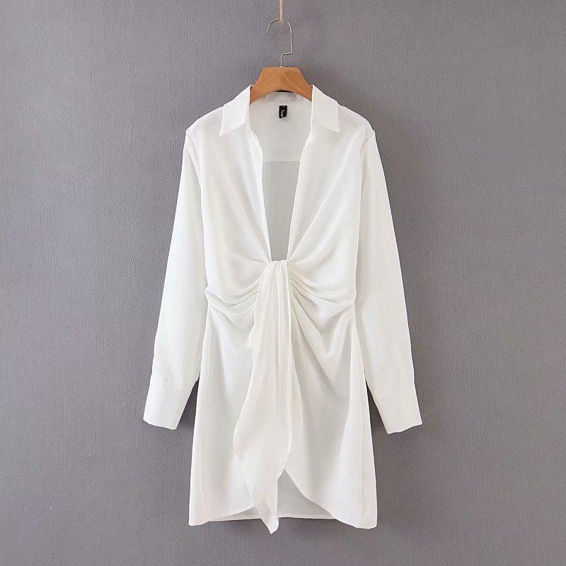 Mini dress summer long sleeves 6