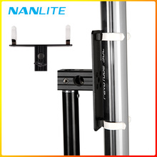 Pavotube Single T12 LED Tube Holder with 5/8in Receiver Transparent single Clip with pillar for Mounting Pavotube 15C 30C