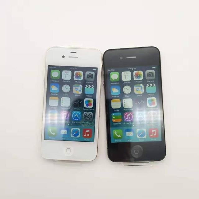 Original Unlocked Apple iPhone 4 Phone 16GB ROM Dual core 3.5 inch GSM WCDMA 3G WIFI GPS 5MP Camera Used Cell phone refurbished