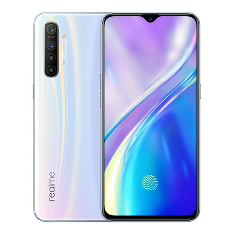 "Realme X2 Moblie Telefon 6.4 ""FHD Snapdragon 730G 6GB + 64GB 64MP Kamera NFC OPPO Handy VOOC 30W Schnelle Ladegerät 4G Smartphone"