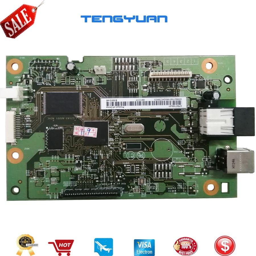 1 pcs x original cf547 60001 pca placa de formatacao mainboard mae placa logica placa principal