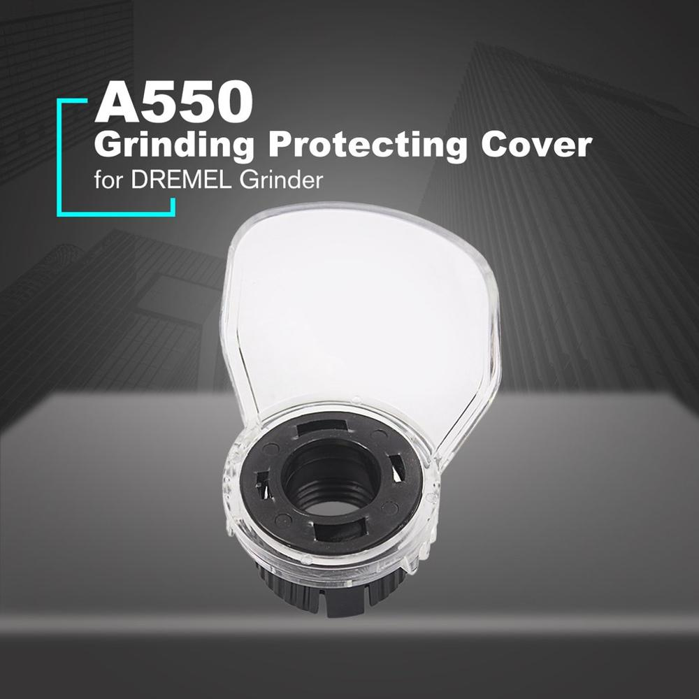 A550 Electric Grinding Protecting Cover Mini Drill Accessories for Grinder Cover Safety Protecting Cover Transparent Color
