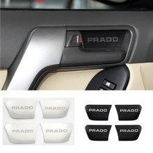 Cubierta interior de acero inoxidable para Toyota Land Cruiser Prado 150 2010 2011 2012 2013 2014 2015 2016 2017 2018 2019
