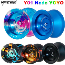 MAGICYOYO Y01 Node Yoyo Ball Professional Metal YoYo 10-ball bearings w/ Rope yoyo Toys Gift for Kids Children