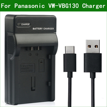 LANFULANG VW VBG130 VW VBG260 Replacement Battery Charger For Panasonic SDR H40 AG HMC150 AG HMC151 AG HMC71 HDC SD7 HDC SD9
