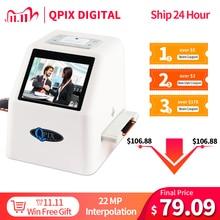 Scanner de Film numérique Portable, convertisseur de 35mm, 135 110 126KPK Super 8 diapositives et négatifs en 22 méga Pixels, JPEG, écran LCD 2.4 pouces